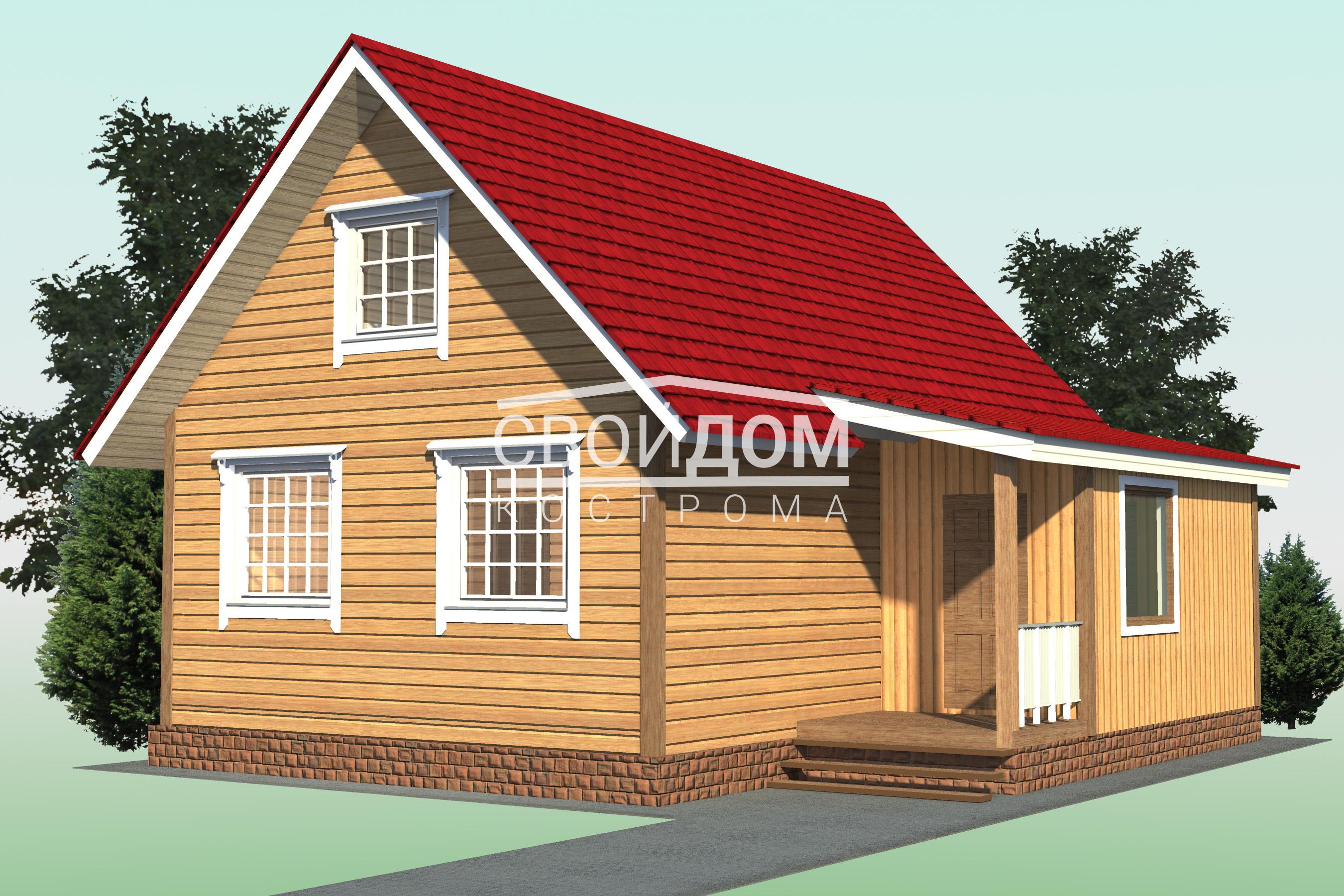 купить дом из профилированнго бруса